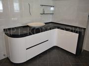 Мебель из искусственного камня для ванных комнат
