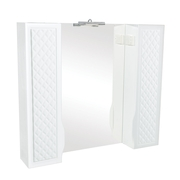 Зеркало Аква Родос Родорс 100 см с подсветкой и двумя пеналами