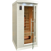 Инфракрасная сауна – небольшая кабинка с вмонтированными излучателями,