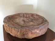 Львов Дизайнерский умывальник из окаменелого дерева для интерьера ванн
